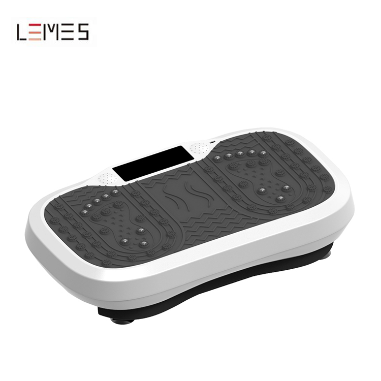 LEMES-S012 Home Gym Mini Size Crazy Fit Massage Workout Vibration Plate
